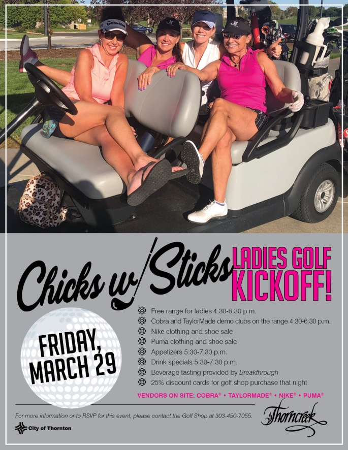 2019 Chicks with Sticks Kick Off Flyer